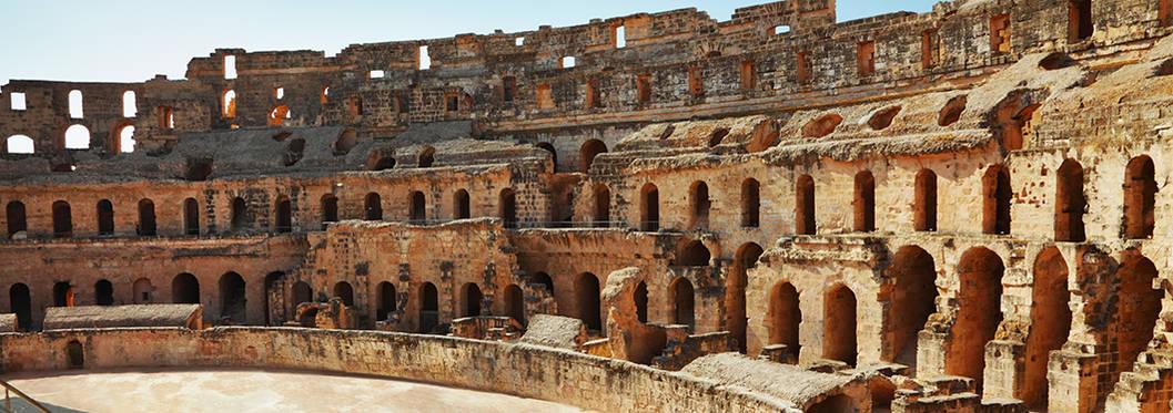 Amphitheatre Of El Jem, Tunisia