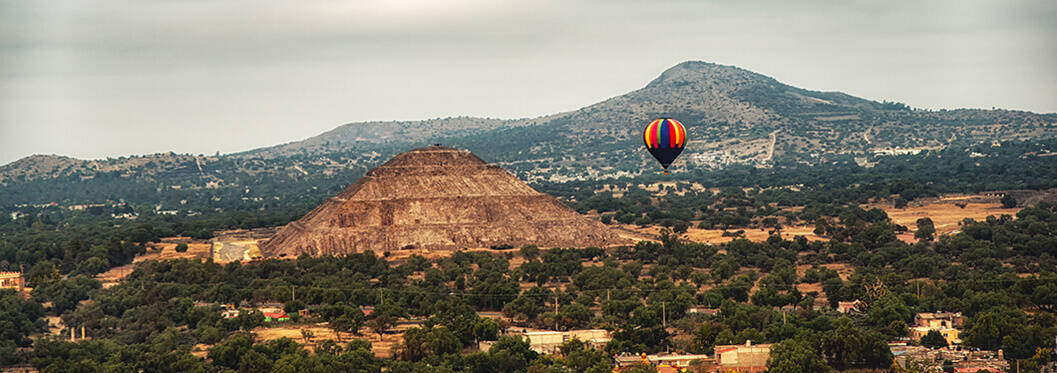 Balloon rides, Mexico