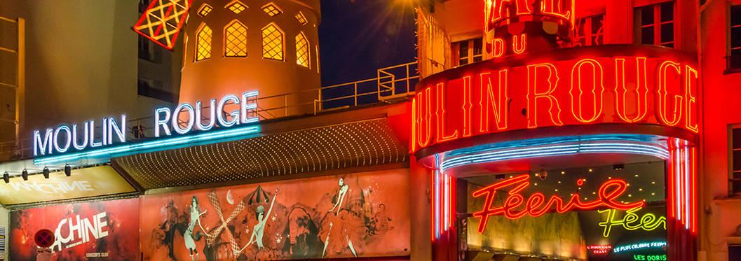 Cabaret Show At Moulin Rouge, Paris
