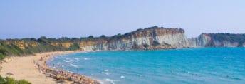 Gerakas beach in Vassilikos on Zakynthos island