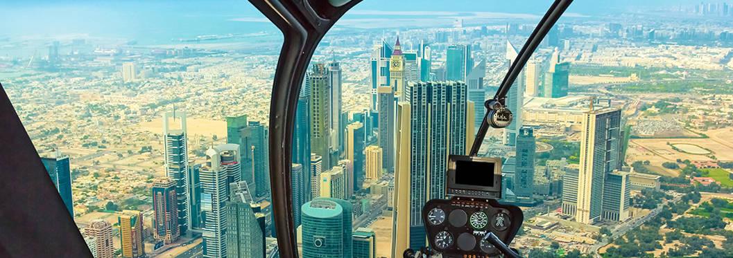 Helicopter Tour, Dubai