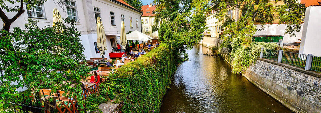 Little Venice Canal Cruise, Prague