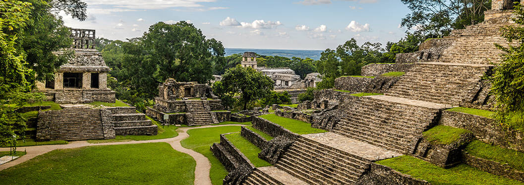 Mayan Temples of Palenque, Mexico