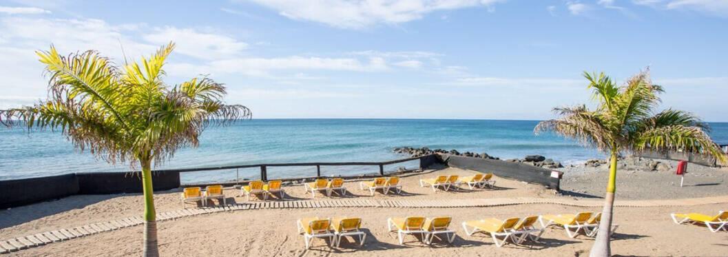 Bahia Feliz beach in Gran Canaria