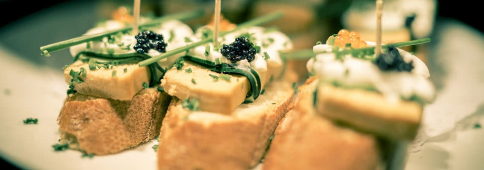 barcelona cheap places to eat - canapes