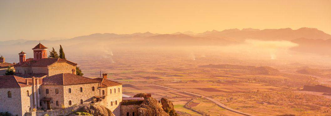 Greece Kalambaka monastery