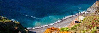 one of the beaches of Madeira - Ponta do Garajau