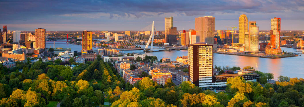 rotterdam port in the netherlands