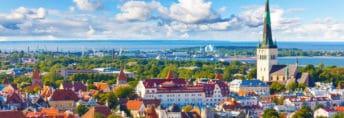 tallinn estonia panorama